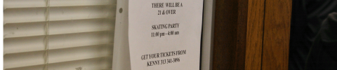 Residents of Detroit got to buy their tickets from Kenny