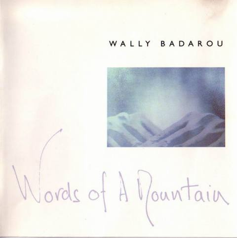 Wally Badarou Words Of A Mountain Front Cover