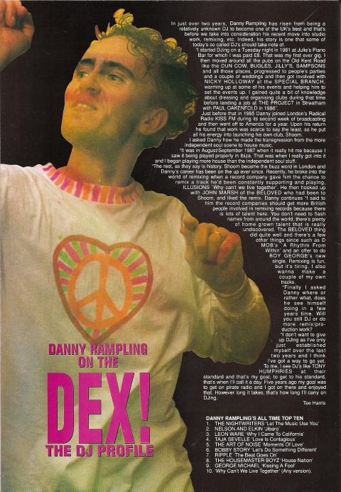 Danny Rampling Profile