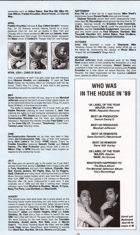 House Round-Up 1989