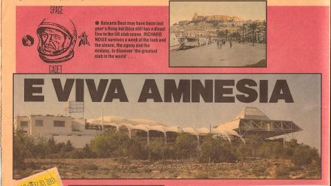 Amnesia July 1989 - 1