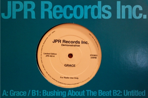 JPR Records Inc 'Grace' / 'Bushing About The Beat'
