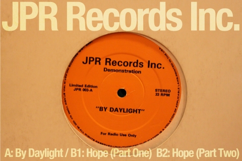 JPR003 'By Daylight' / 'Hope'