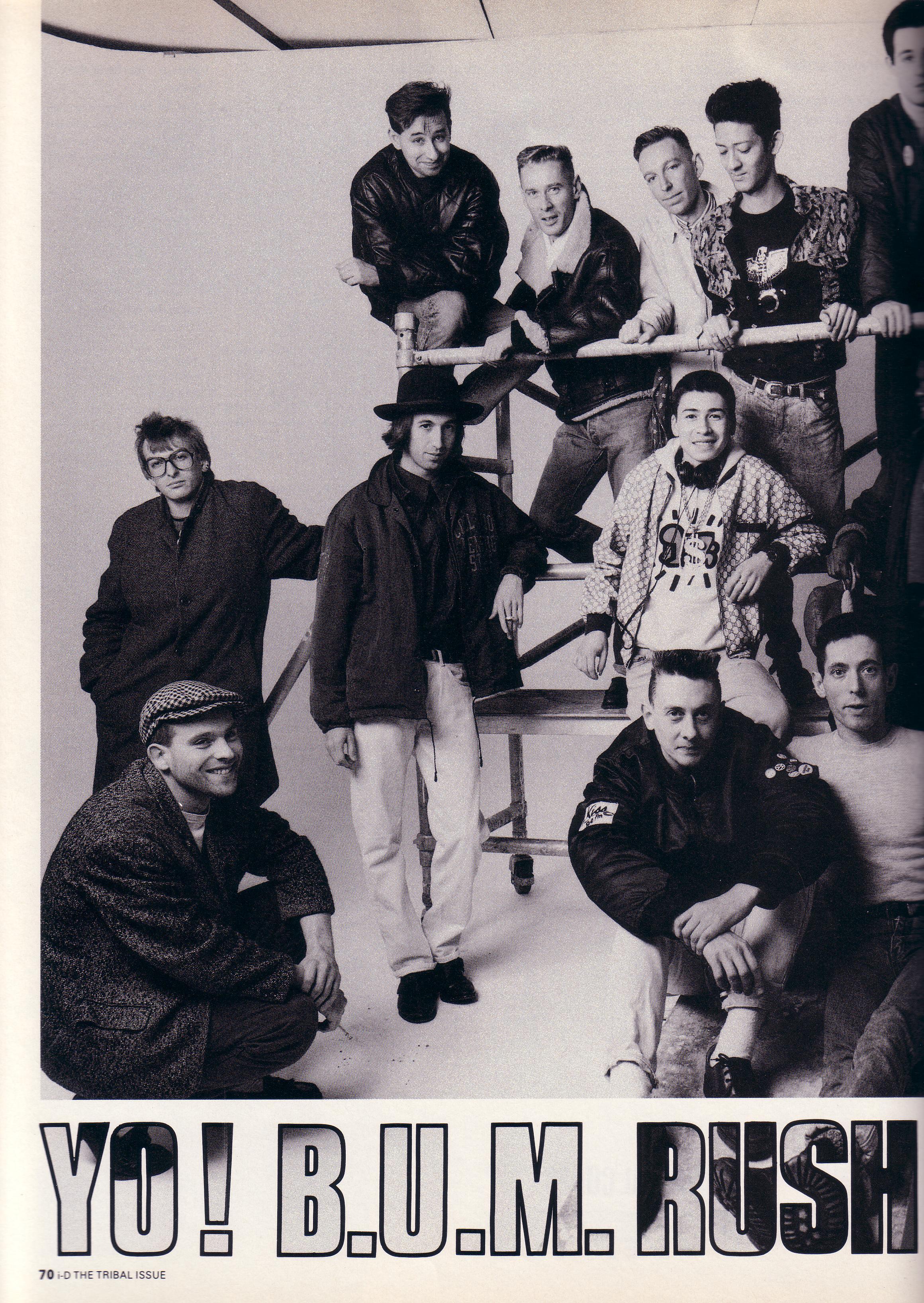 Magazine test pressing for 1988 club music