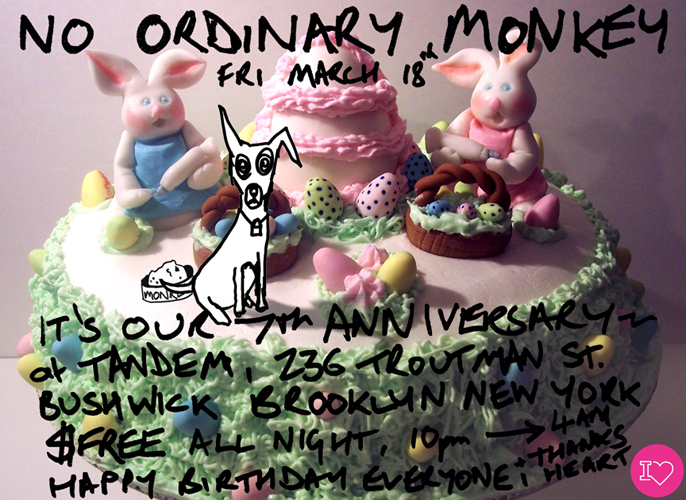 Party No Ordinary Monkey New York