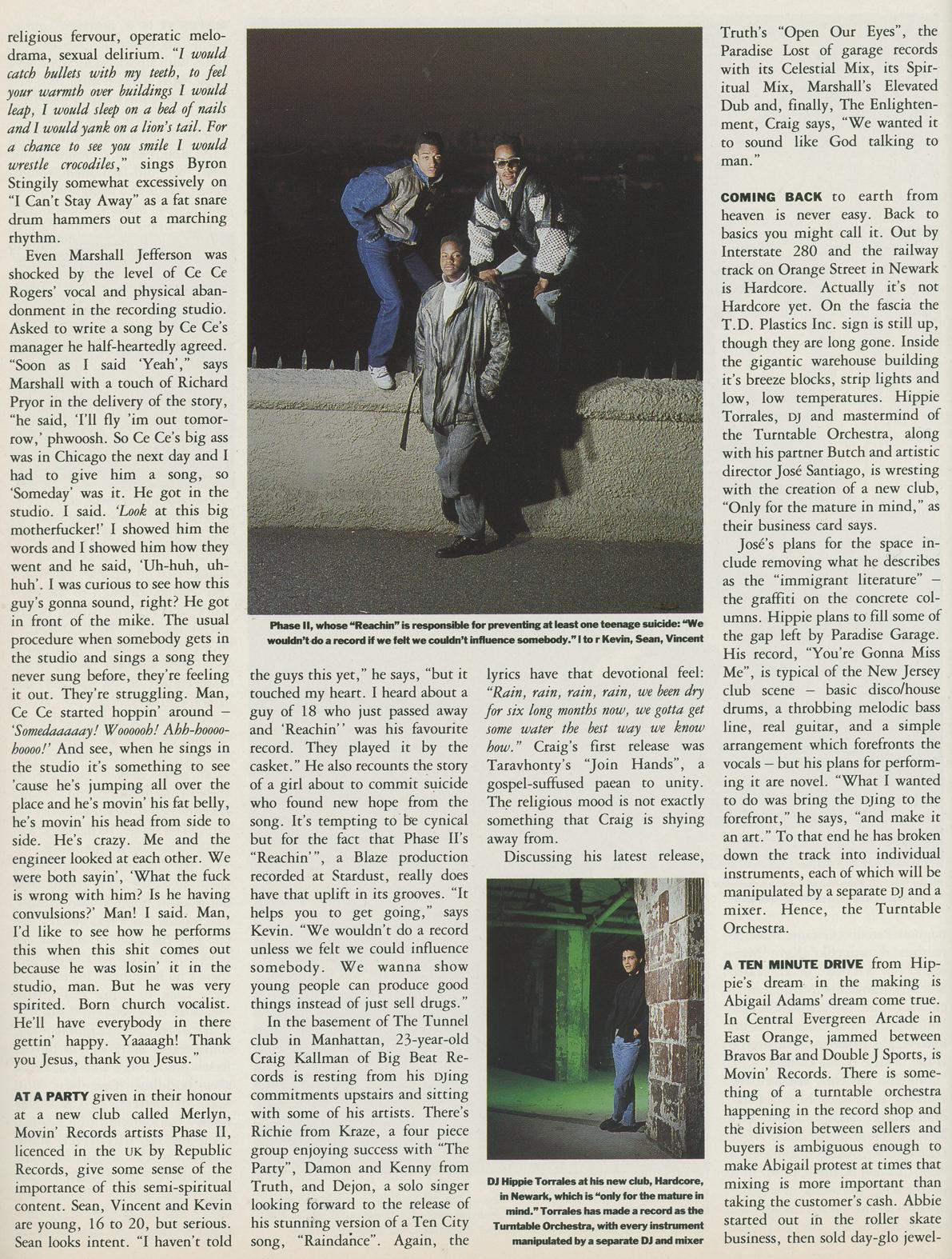 1988 test pressing for Acid house 1988